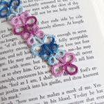 Blue Pink Lace Bookmark In ..