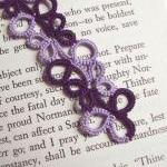 Two-tone Purple Tatted Lace..